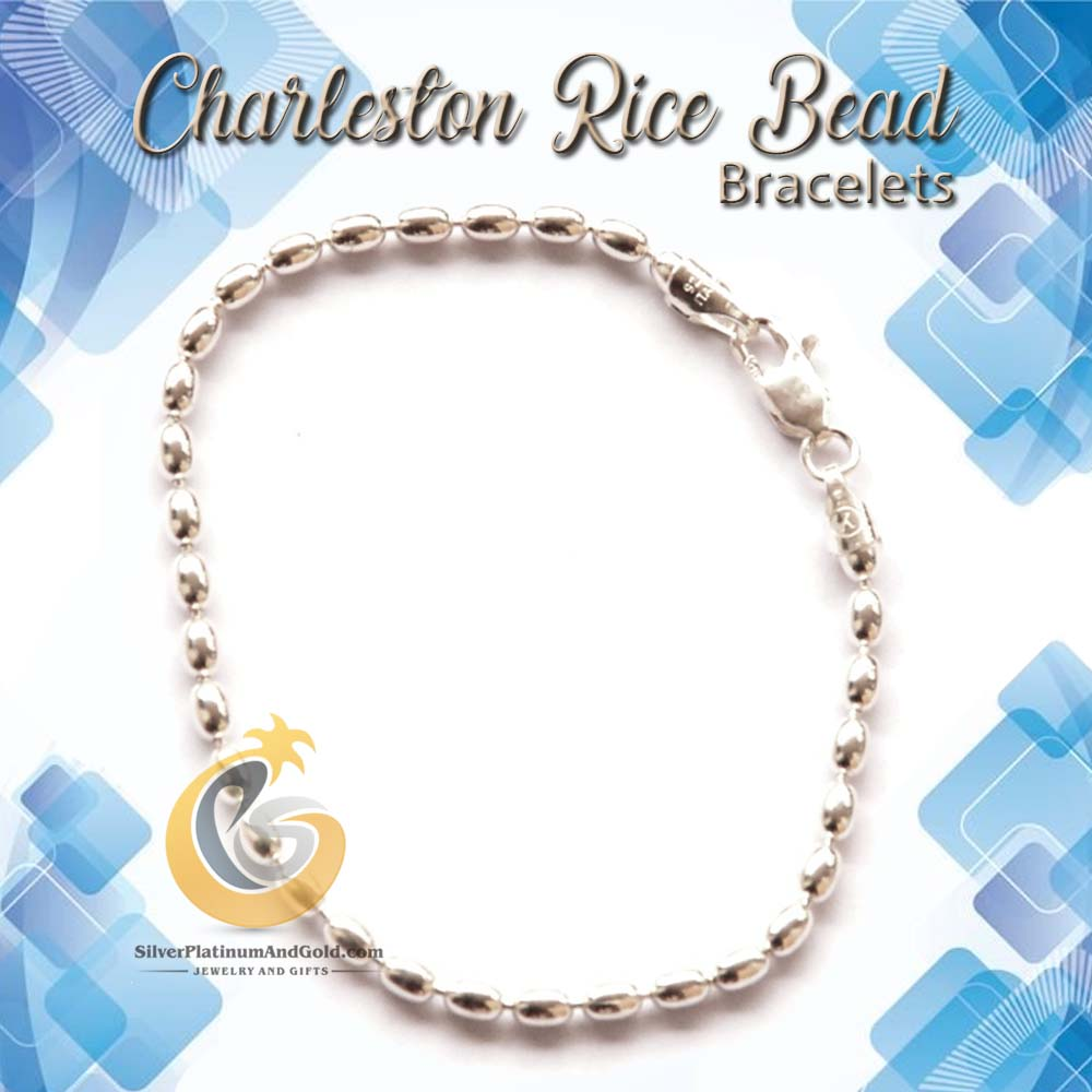 Charleston Rice Bead Bracelets
