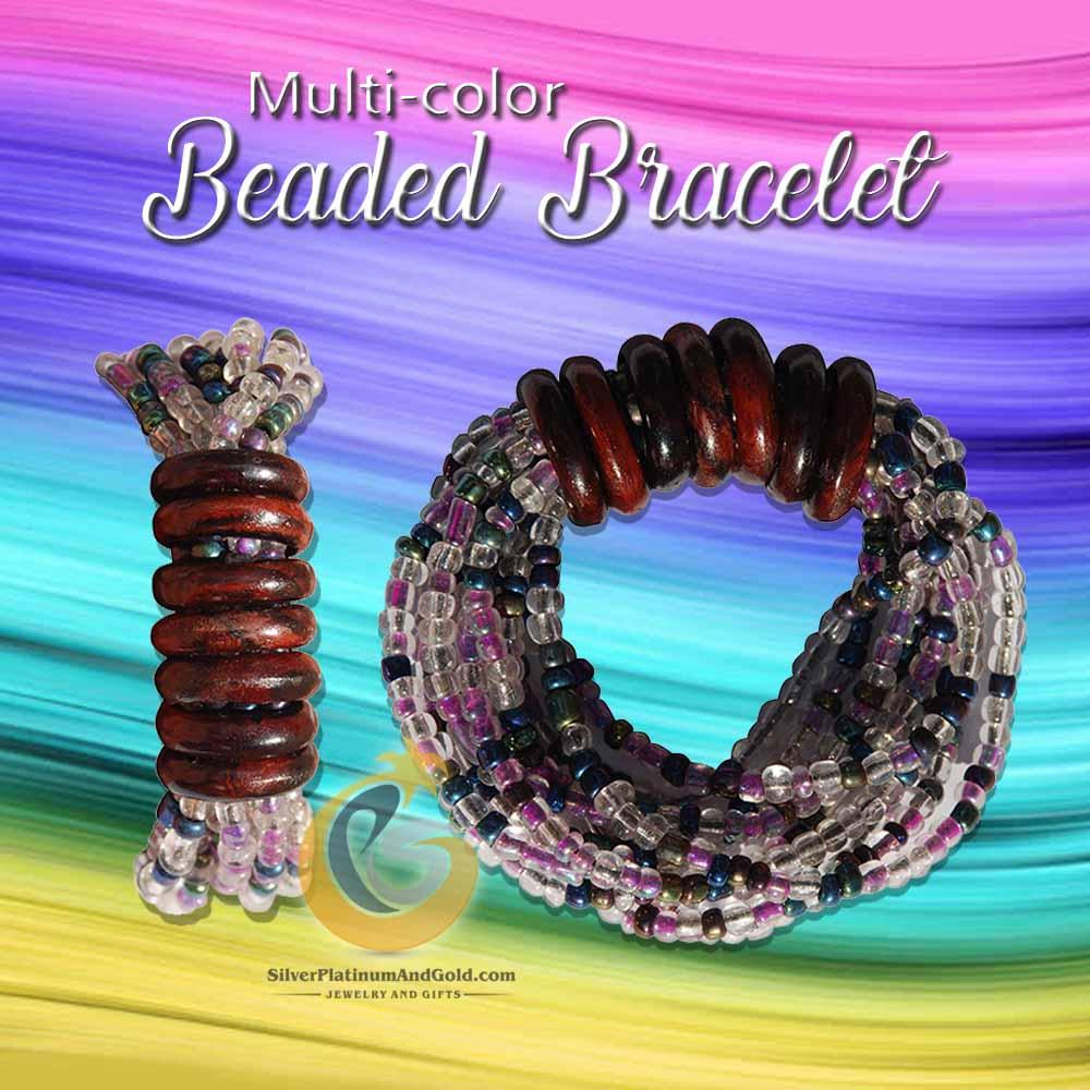 multi-color Beaded Bracelet
