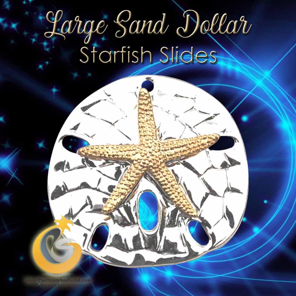 Large Sand Dollar Starfish Slides