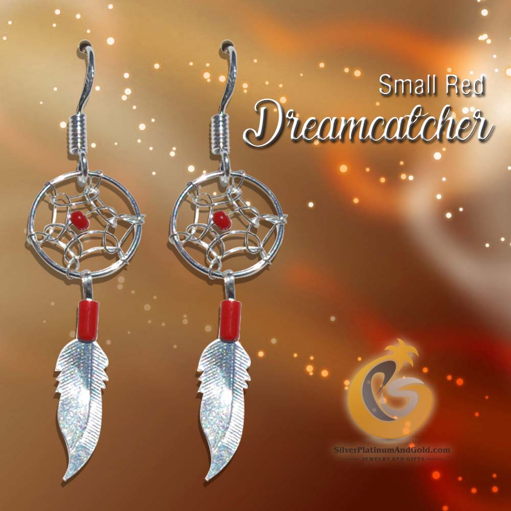 Small Red Dreamcatcher-Recovered